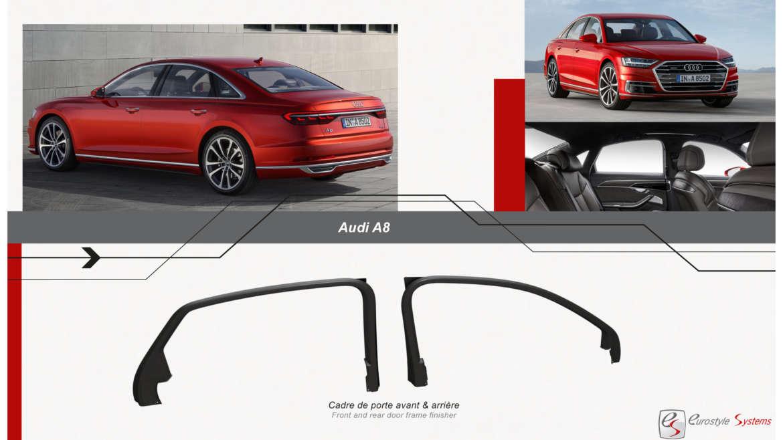 Cadres de porte Audi A6-A8 : un projet inédit et international !