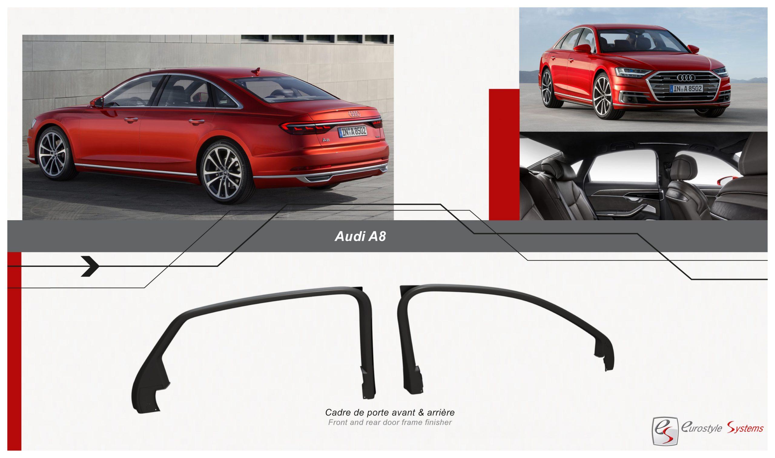 Read more about the article Cadres de porte Audi A6-A8 : un projet inédit et international !