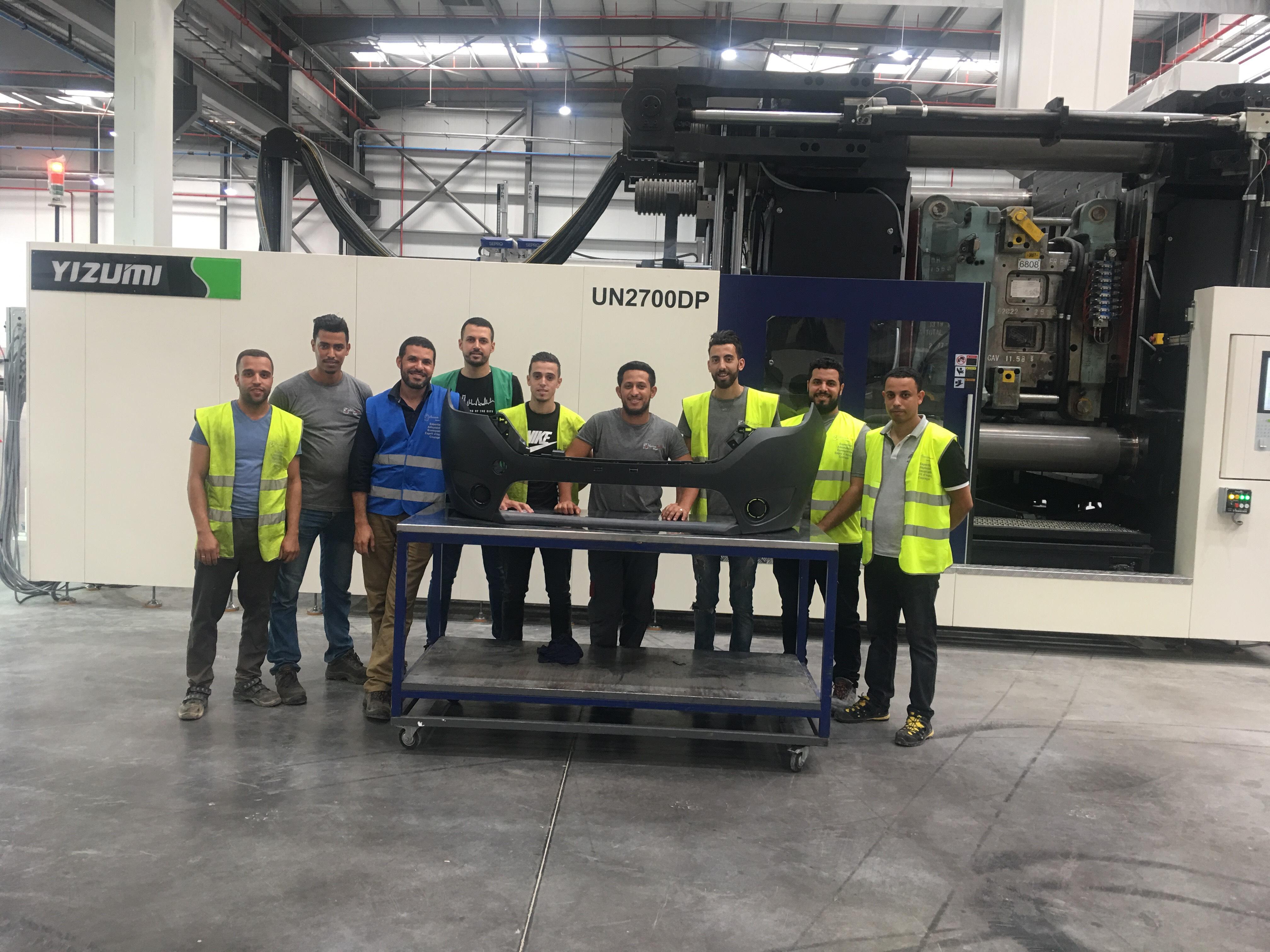 Eurostyle Systems Melloussa : production des premières pièces !