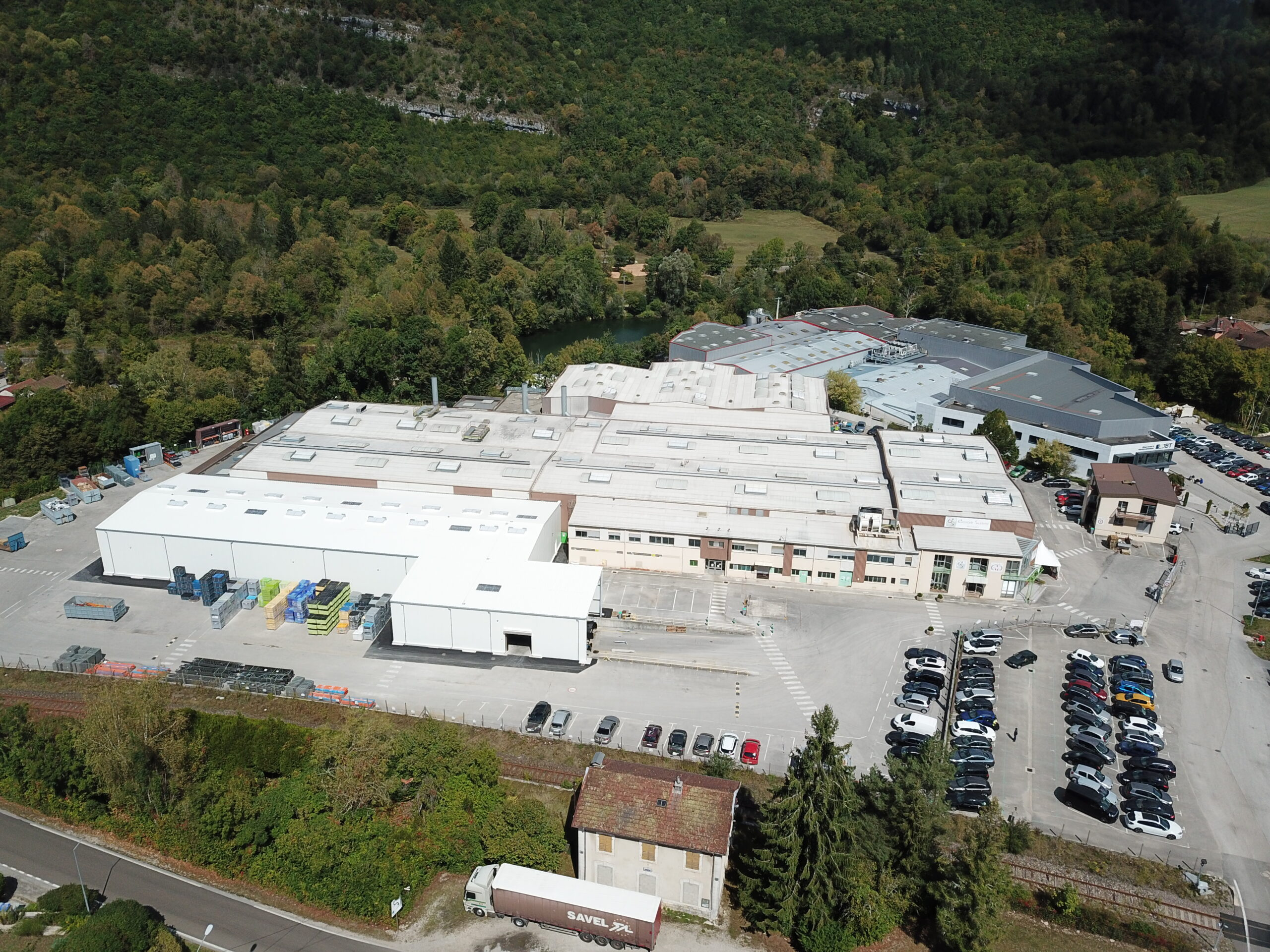 Eurostyle Systems Molinges : The plant doubles its storage area