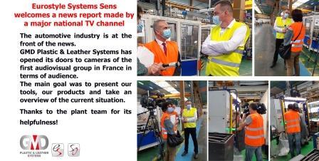 Eurostyle Systems Sens accueille France Télévisions