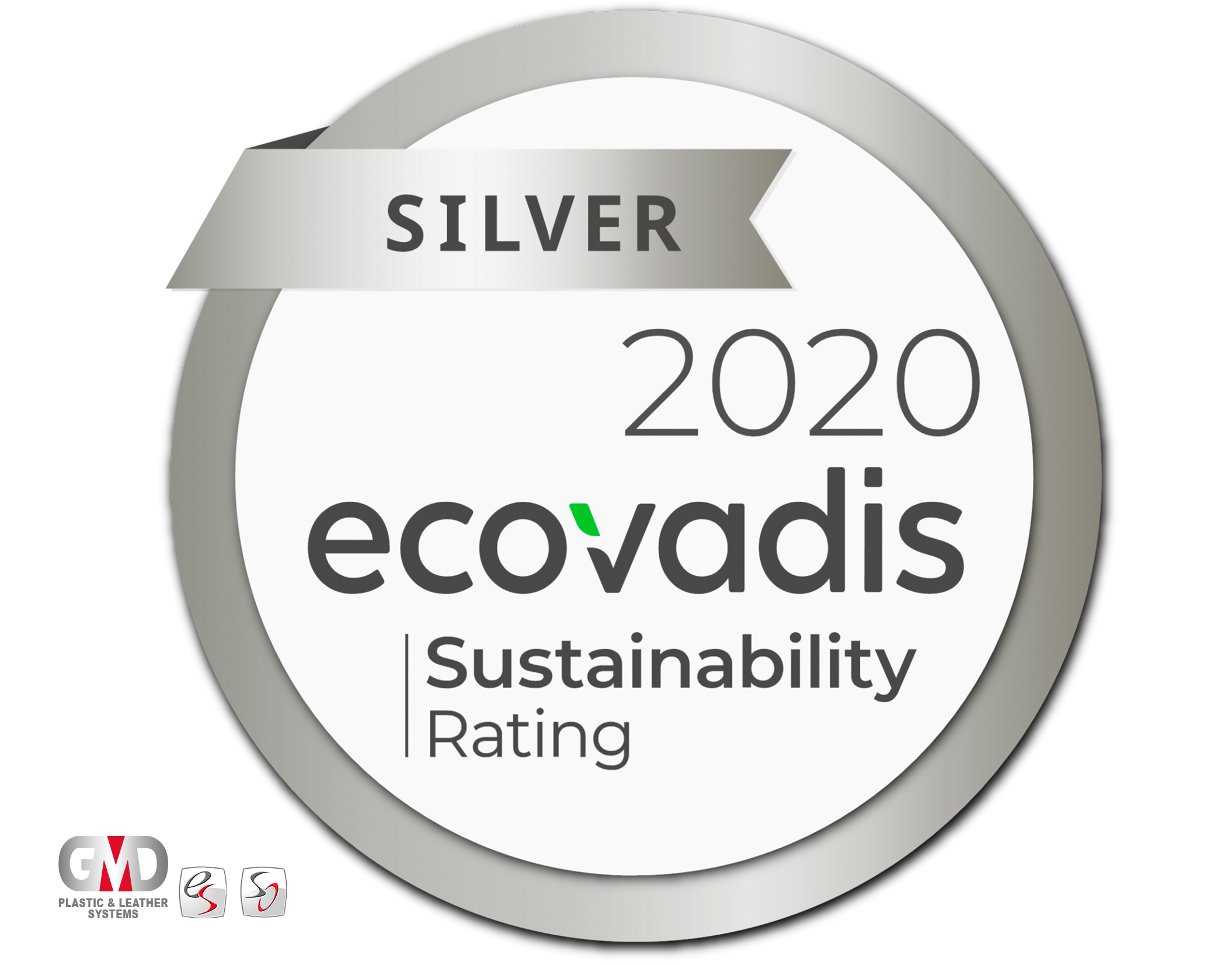 GMD Plastic & Leather Systems receives the Ecovadis Silver Award