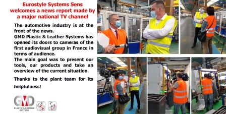 Eurostyle Systems Sens welcomes a news report made by a major national TV channel