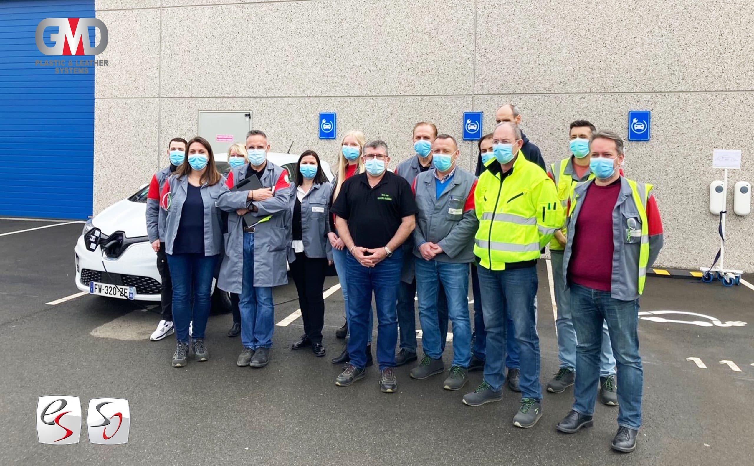 Read more about the article Eurostyle Systems Valenciennes : Das Werk ist auf dem Weg zur Elektromobilität !