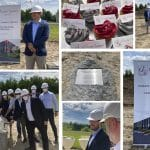 Groundbreaking ceremony for Eurostyle Systems Tachov in the Czech Republic