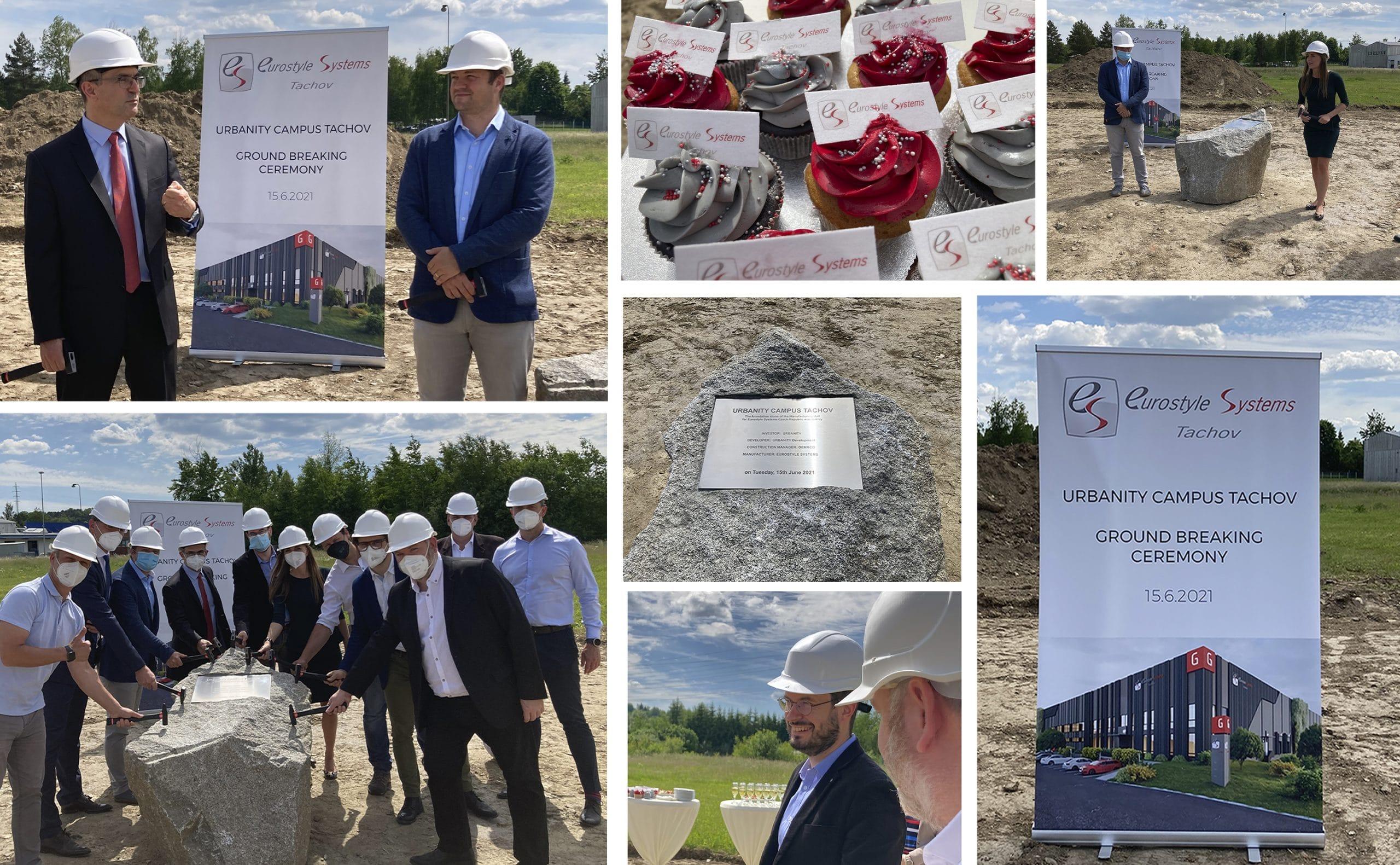Read more about the article Cérémonie de pose de la première pierre pour Eurostyle Systems Tachov en République tchèque